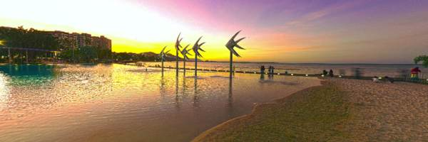 Cairns Lagoon at Sunset