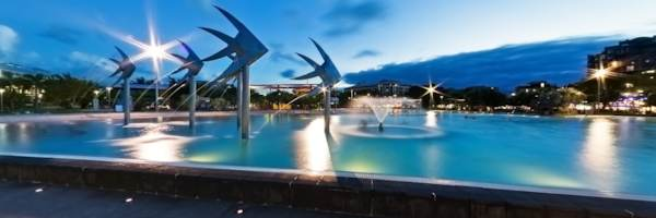 Cairns Lagoon at Night