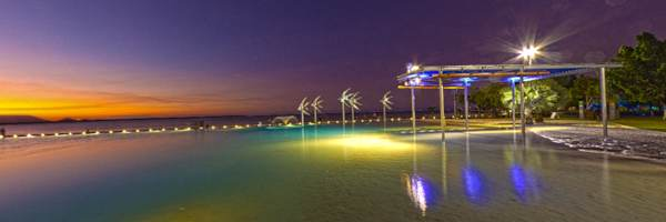 NEW! Cairns Lagoon at Night